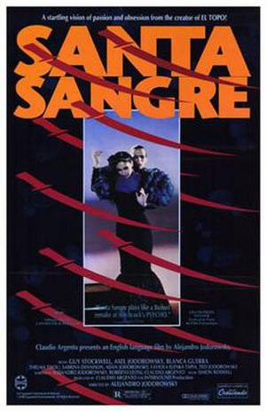 Santa Sangre - Original US theatrical release poster