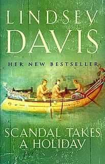 <i>Scandal Takes a Holiday</i> book by Lindsey Davis