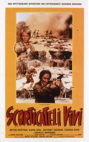 Scorticateli vivi - Original movie poster
