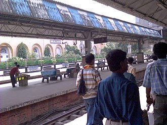 Sealdah railway station - Image: Sealdah Platform