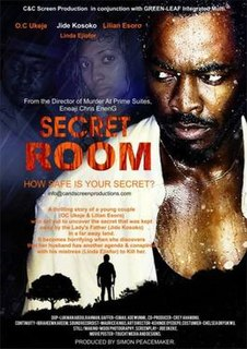 <i>Secret Room</i> 2013 Nigerian thriller film
