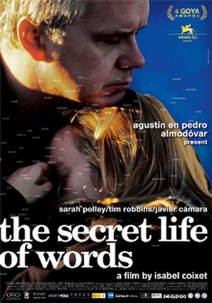 The Secret Life of Words - Theatrical release poster