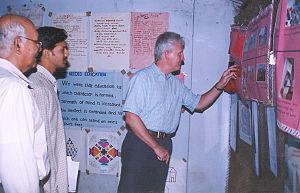 Seva Bharati - British Deputy High Commissioner Stuart Innes visiting Seva Bharati's rehabilitation centre for child labor, Telangana