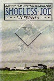 <i>Shoeless Joe</i> (novel) book by W. P. Kinsella