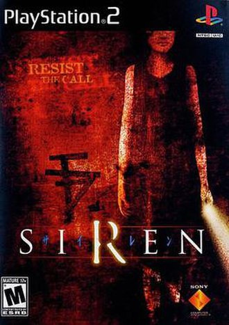 Siren (video game) - Image: Siren art box