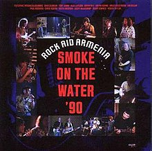 "Cover of the 7"" reissue of the Rock Aid Armenia single"