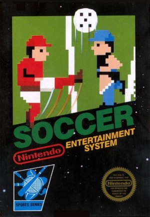 Soccer (1985 video game) - North American cover art