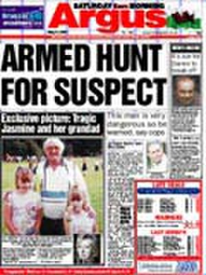 South Wales Argus - Image: South Wales Argus 20070731cover