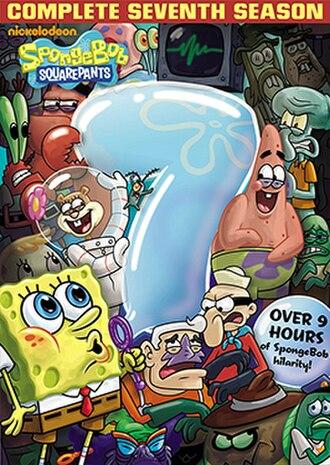 SpongeBob SquarePants (season 7) - DVD cover