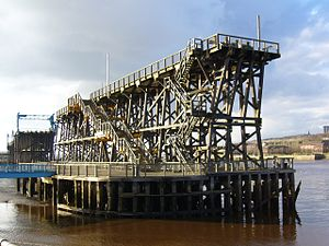 Dunston, Tyne and Wear - Dunston Staiths, 2006
