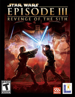 Star Wars: Episode III – Revenge of the Sith (video game) - Image: Star Wars Episode III cover