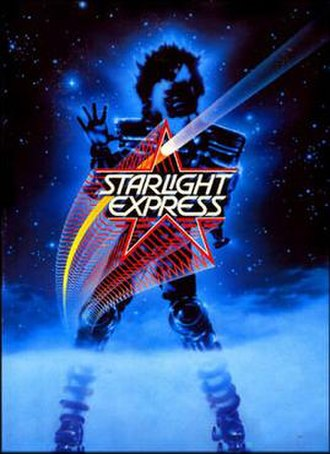 Starlight Express - Logo for the Japan/Australia tour, 1987-1988