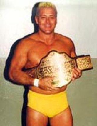 Starrcade (1987) - Ron Garvin as the NWA World Heavyweight Champion