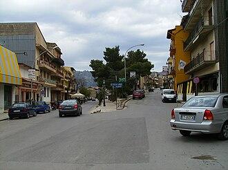 San Giuseppe Jato - A street in San Giuseppe Jato, March 2009