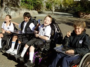 Sydney Secondary College Balmain Campus - Students from the Support Unit