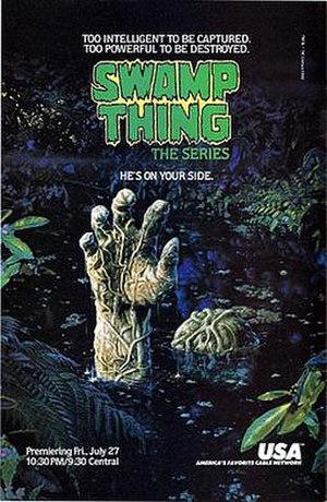 Swamp Thing - A comic book ad for the TV series.