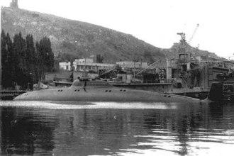 Beluga-class submarine - Image: T283