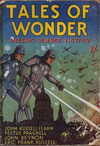 Tales of Wonder (magazine) - The first issue of Tales of Wonder