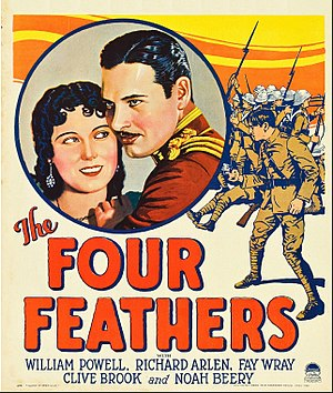 The Four Feathers (1929 film) - Film poster
