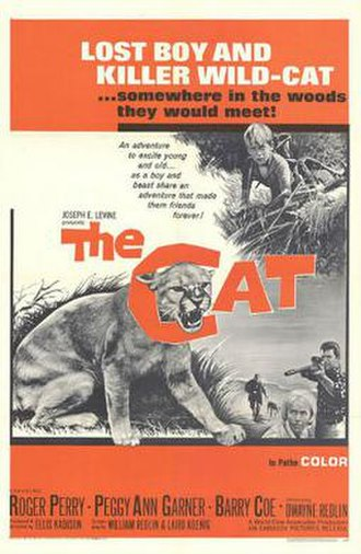 The Cat (1966 film) - Theatrical release poster