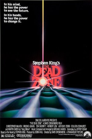 The Dead Zone (film) - Theatrical release poster