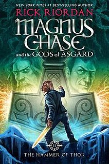 <i>The Hammer of Thor</i> book by Rick Riordan