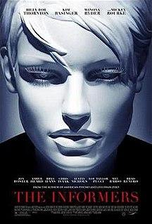 <i>The Informers</i> (2008 film) 2009 film by Gregor Jordan