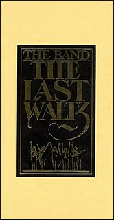 <i>The Last Waltz</i> (2002 album) live album by The Band