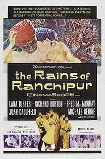 <i>The Rains of Ranchipur</i> 1955 film