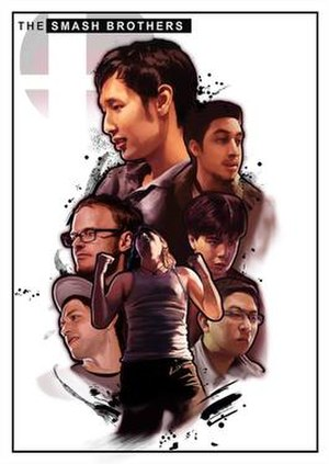 The Smash Brothers - Poster for the film depicting the players profiled in the series.