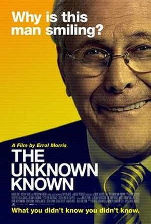 The Unknown Known - Theatrical release poster