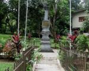 Puran Appu - Image: The memorial monument built for sri lankan hero puran appu