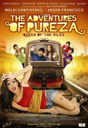 The Adventures of Pureza: Queen of the Riles - Theatrical movie poster