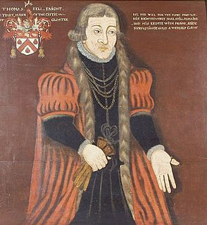 Thomas Bell (Mayor of Gloucester) English merchant and politician