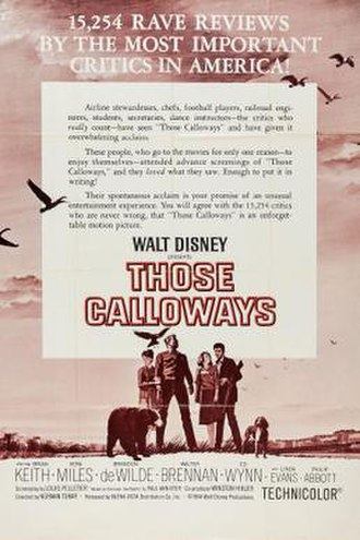 Those Calloways - Theatrical release poster