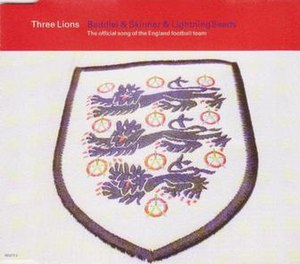 UEFA Euro 1996 - Three Lions single