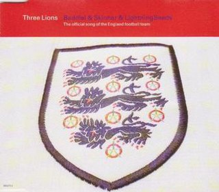 Three Lions 1996 single by Baddiel, Skinner and the Lightning Seeds