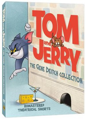 Tom and Jerry: The Gene Deitch Collection - Image: Tom and Jerry Gene Deitch Collection cover