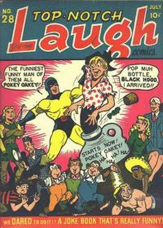 Top-Notch Comics - Image: Top Notch Laugh Comics 28