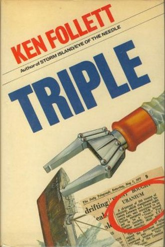 Triple (novel) - First edition (publ. Macdonald and Jane's)