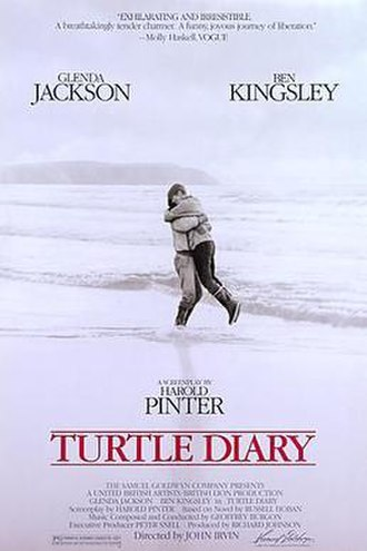 Turtle Diary - Theatrical release poster