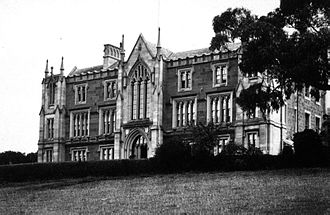 University of Tasmania - The university's first site in Queens Domain