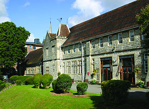 University of Winchester - The main building of the University of Winchester