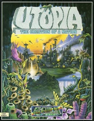 Utopia: The Creation of a Nation - European computer cover art