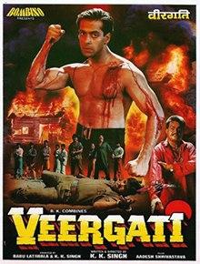 Veergati (1995) SL YT - Salman Khan, Atul Agnihotri, Divya Dutta, Sudesh Berry, Farida Jalal, Tinnu Anand, Avtar Gill, Rohini Hattangadi, Saeed Jaffery, Kulbhushan Kharbanda, Himani Shivpuri
