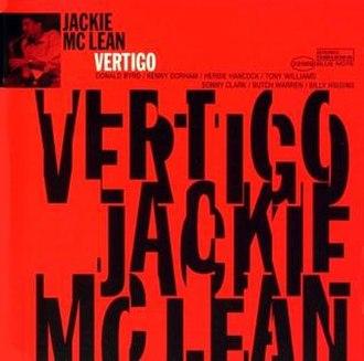 Vertigo (Jackie McLean album) - Image: Vertigo (album)