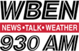 WBEN (AM) - Former logo, used from ca. 1990 to 2011