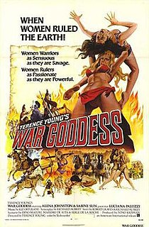 <i>War Goddess</i> Adventure film directed by Terence Young in 1973