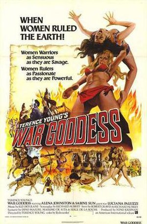 War Goddess - Image: War goddess