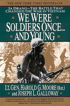 We Were Soldiers Once… and Young - First edition cover, featuring Lt. Rick Rescorla